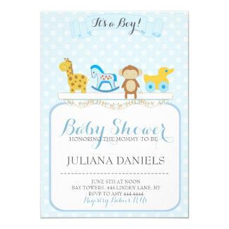 Baby Boy Nursery Baby Shower Invitations