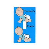 Baby Boy Nursery Light Switch