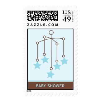 Baby Boy Nursery Postage Stamps