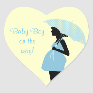 """""""Baby Boy On The Way"""" Stickers"""