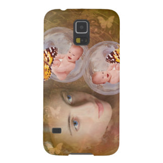 Baby boy or girl twins galaxy s5 cover