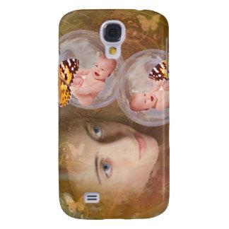 Baby boy or girl twins samsung galaxy s4 cases