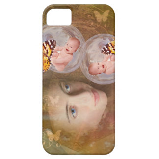 Baby boy or girl twins iPhone SE/5/5s case