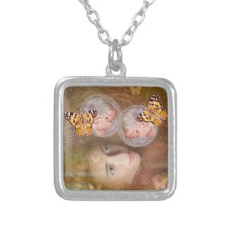 Baby boy or girl twins pendants