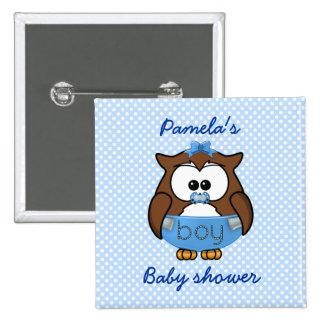 baby boy owl pin