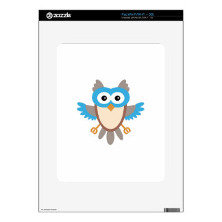 Baby Boy Owl Decal For The iPad