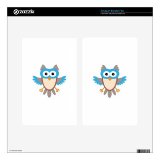 Baby Boy Owl Decals For Kindle Fire