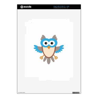 Baby Boy Owl Skins For iPad 2