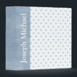 """Baby Boy Personalized Custom Photo Album Gift 3 Ring Binder<br><div class=""""desc"""">This is such a cute custom photo album you can personalize.</div>"""