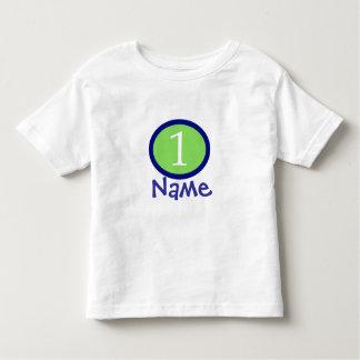 Baby Boy Personalized First Birthday Shirt