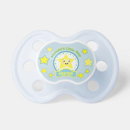 baby boy personalized pacifier zazzle