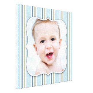 Baby Boy Photo [12x12 Inches] Canvas Print