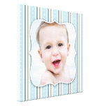 Baby Boy Photo [12x12 Inches] Gallery Wrap Canvas