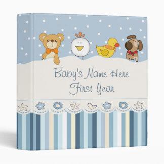 Baby Boy Photo Album Binder