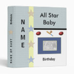 Baby Boy Photo Binder