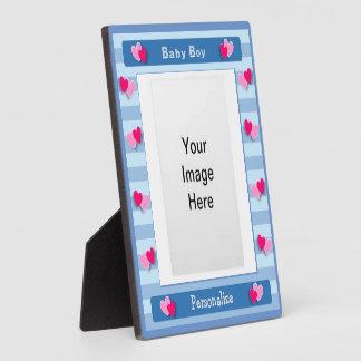 Baby Boy Photo Frame Display Plaque