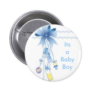Baby Boy Pinback Button