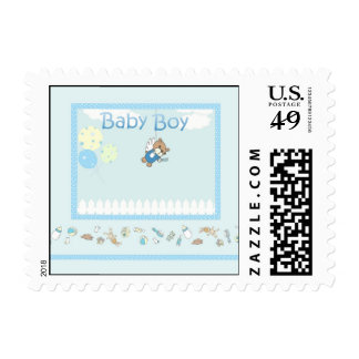Baby Boy Postage Stamp