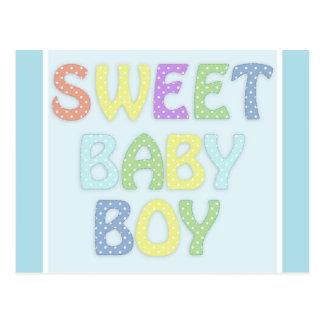 Baby Boy Postcard