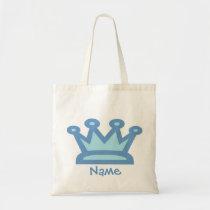 Baby Boy Prince Tote Bag