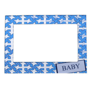 Baby Boy Print Magnetic Picture Frame
