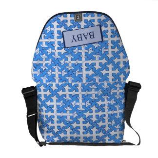 Baby Boy Print Messenger Bag