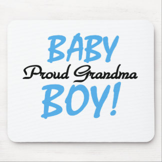 Baby Boy Proud Grandma Mouse Pad