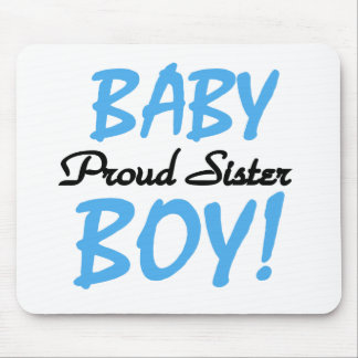 Baby Boy Proud Sister Mouse Pad