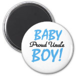 Baby Boy Proud Uncle 2 Inch Round Magnet