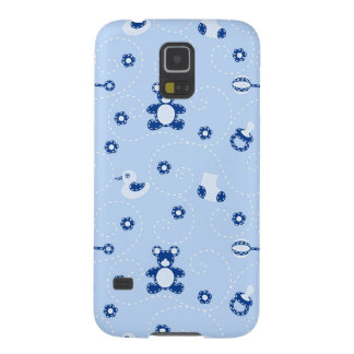 Baby-boy Quilt Pattern Case For Galaxy S5