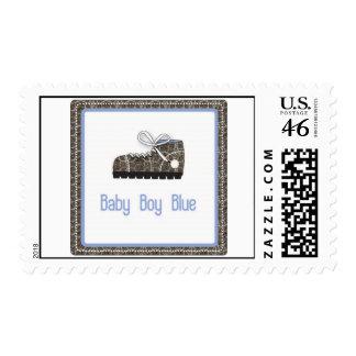 Baby Boy Shoe Stamp