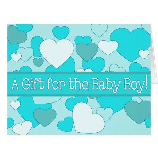 baby boy shower gift card zazzle