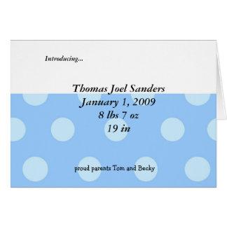 Baby Boy Shower Invitation Cards