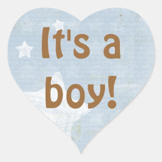 Baby Boy Shower Sticker Envelope Seals Party Favor