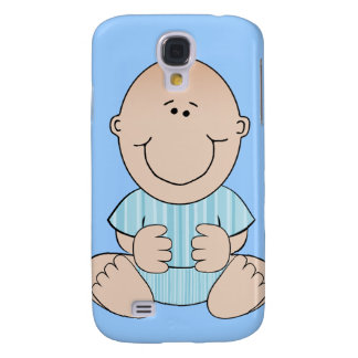 Baby Boy Sitting Samsung Galaxy S4 Case