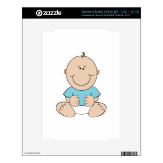 Baby Boy Skins For The NOOK