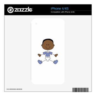 BABY BOY DECAL FOR iPhone 4