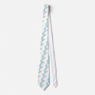 Baby Boy Sleeps Neck Tie