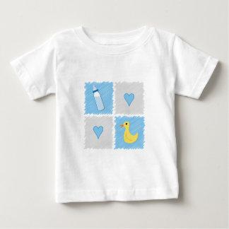 Baby Boy Squares Baby T-Shirt