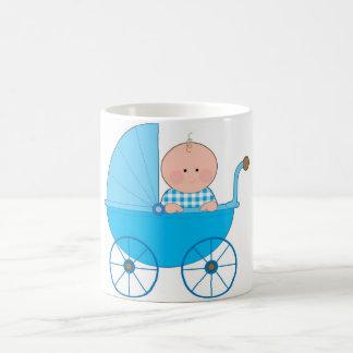 Baby Boy Stroller Coffee Mug