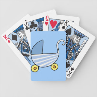 baby boy stroller deck of cards