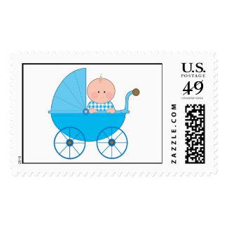 Baby Boy Stroller Postage