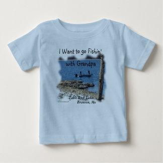 Baby Boy T-shirt 2338 Table Rock Lake-customize