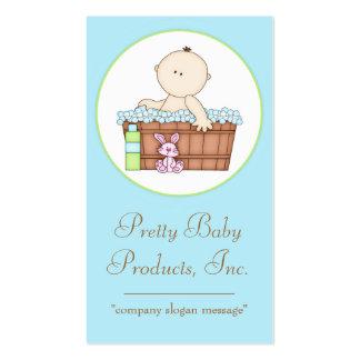 Baby Boy taking a Bath Business Card