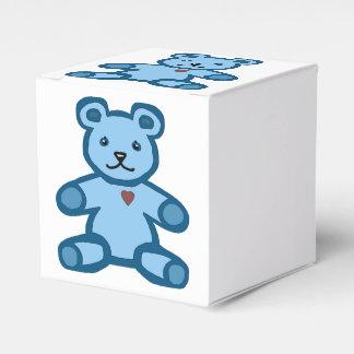 Baby boy teddy bear favor box