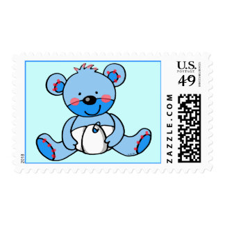 Baby Boy (teddy bear) Postage