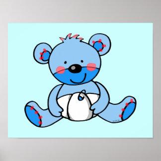 Baby Boy teddy bear Poster