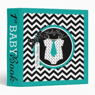 Baby Boy Tie Memory Book Album Binder