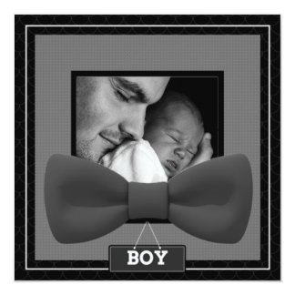 Baby Boy Tie Replace Image Card