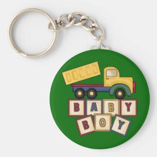 Baby Boy Toy Truck Keychain